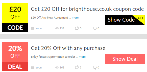 bright house promo deals