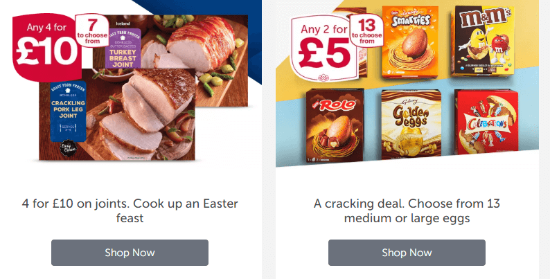 Iceland Foods Bedford Offers and Coupons