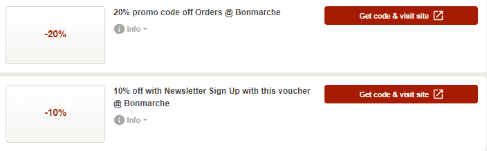 Bonmarché Dunstable Offers and Coupons