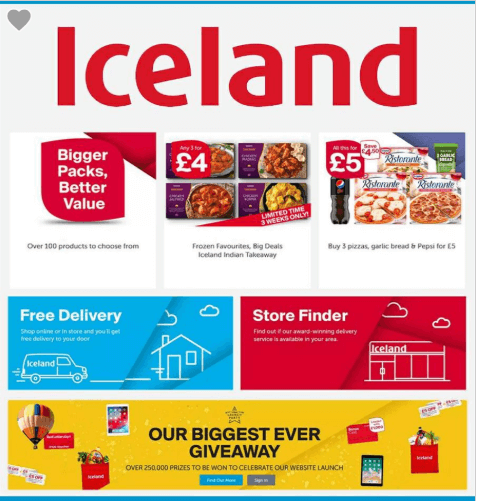 Iceland Biggleswade Offers and Coupons