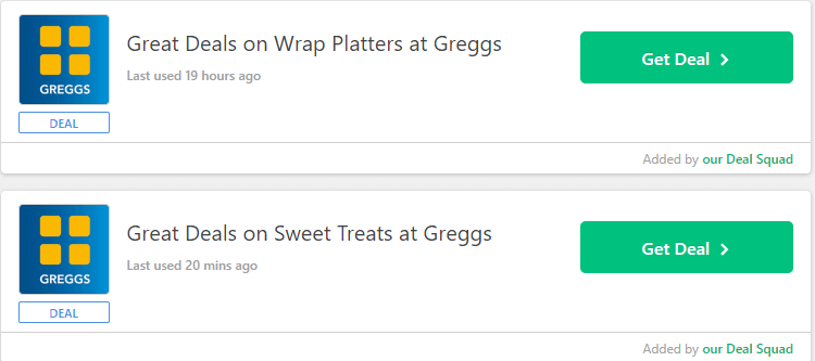 Greggs Dunstable Offers and Coupons
