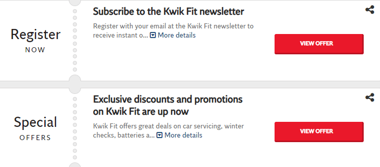 Kwik Fit Dunstable Offers and Coupons