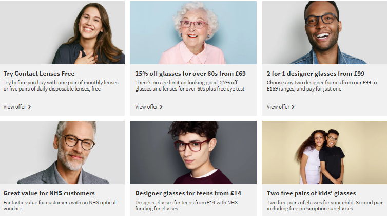 Specsavers Leighton Buzzard Offers and Coupons